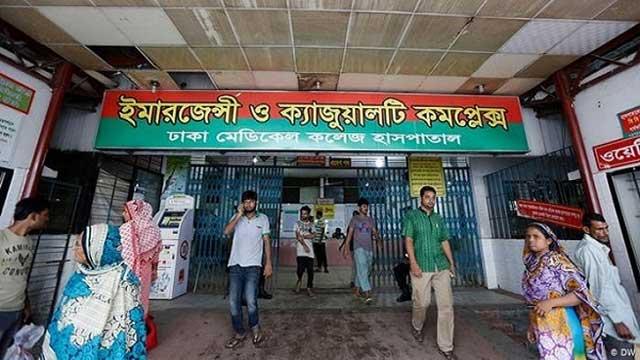 Seven people sustain burn injuries in Dhaka gas explosion