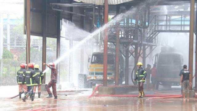 2 killed in Meghna oil depot fire, Khulna