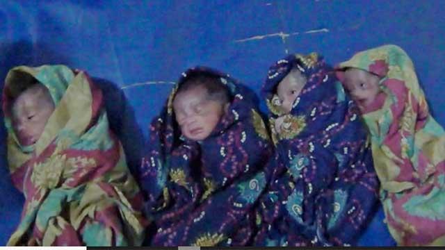 বিয়ের ১১ বছর পর এক সঙ্গে চার সন্তানের জন্ম