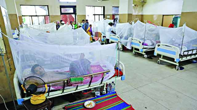 1,719 dengue patients hospitalised in 24hrs