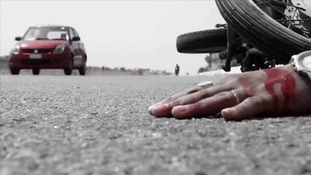 গুলশানে বাসের ধাক্কায় মোটরসাইকেল আরোহী যুবক নিহত