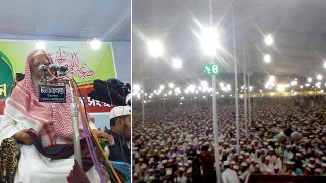 কাদিয়ানীদের রাষ্ট্রীয়ভাবে অমুসলিম ঘোষণা করতে হবে: আহমদ শফী