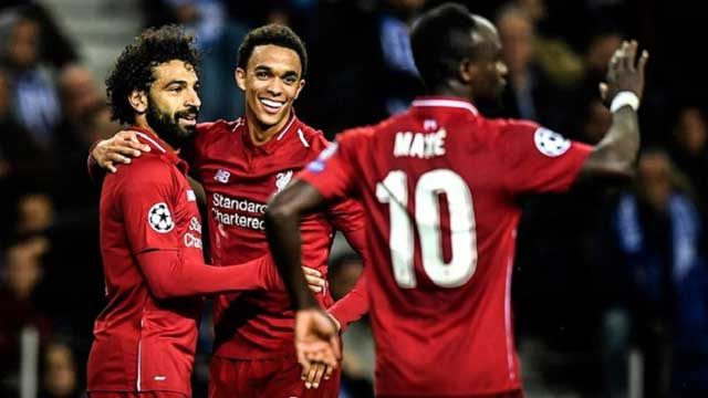 Salah shines as clinical Liverpool see off Porto