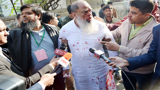 Dhaka-4 BNP candidate Salahuddin 'assaulted'