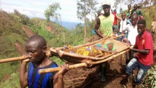 Authorities say at least 28 killed in landslides in Burundi