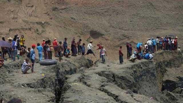 মিয়ানমারে খনিধসে নিহতের সংখ্যা বেড়ে ১১৩, আটকে আছে ২০০ জনের বেশি