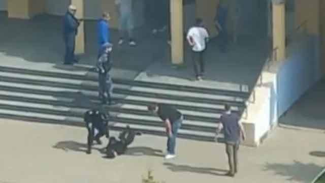 11 killed in school shooting in Russia