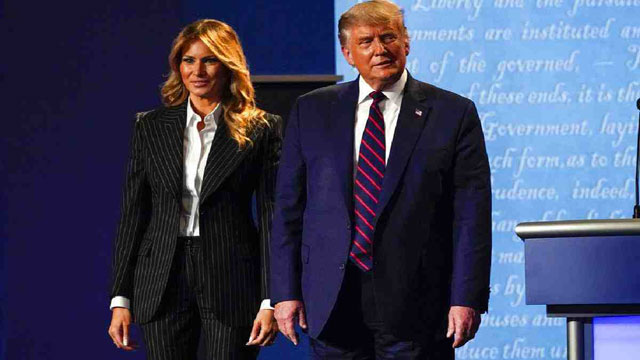 US President Trump and first lady test positive for COVID-19