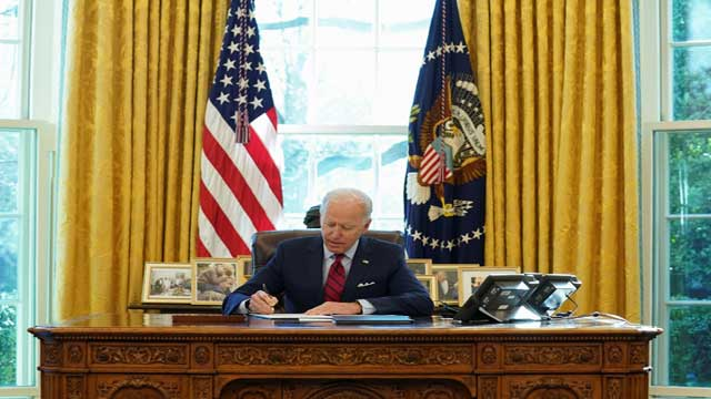 Biden signs 42 executive actions since taking office