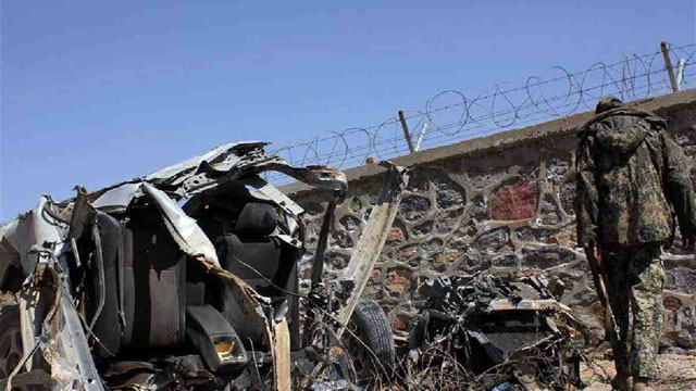 At least 30 police killed in suicide car bomb explosion in Afghanistan