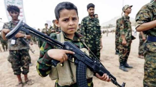 UN: Over 8,500 children used as soldiers in 2020