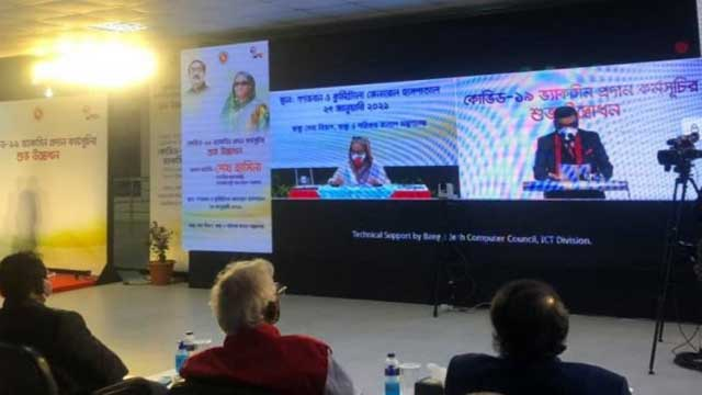 PM inaugurates Covid-19 vaccination drive; 5 govt employees to be inoculated