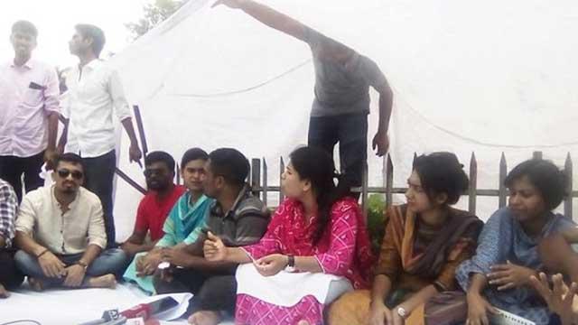 দাবি না মানলে রাজু ভাস্কর্যে ঈদ করবেন ছাত্রলীগের পদবঞ্চিতরা