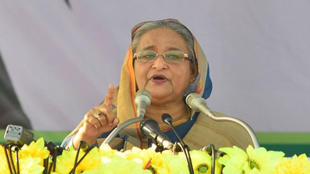 Hasina seeks public mandate for another term
