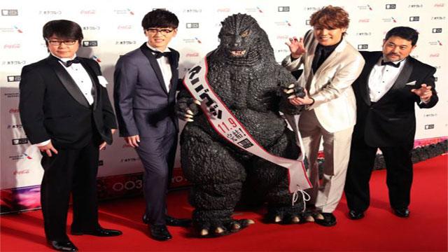Godzilla is back!