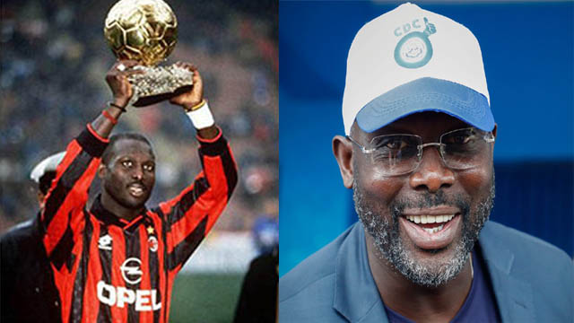 লাইবেরিয়ার প্রেসিডেন্ট নির্বাচিত হলেন সাবেক ফুটবলার