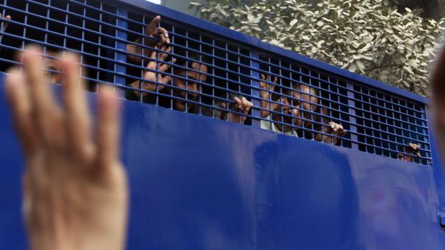 Goyeshwar sent to jail, 54 BNP men remanded