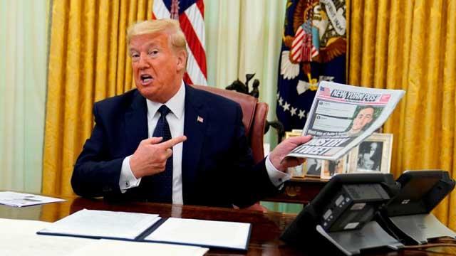 Trump signs executive order aimed at curtailing social media companies