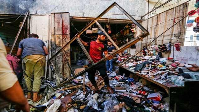 Suicide attack in Iraq's Sadr City kills 35, wounds dozens