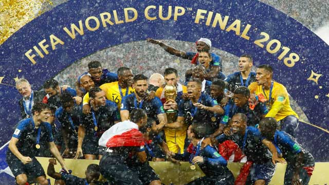 France seal second World Cup triumph
