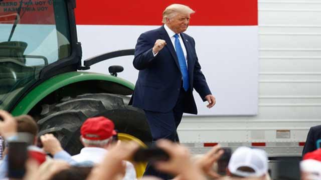 Republicans nominate Trump again
