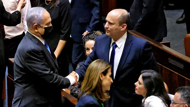 Netanyahu ousted as parliament votes new govt
