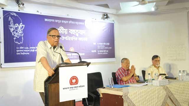 বিরোধী মনোভাবকে সহ্য করতে হবে : আকবর আলি খান