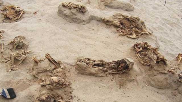 ইতিহাসের 'সবচেয়ে বড়' শিশু বলিদান ঘটনার সন্ধান