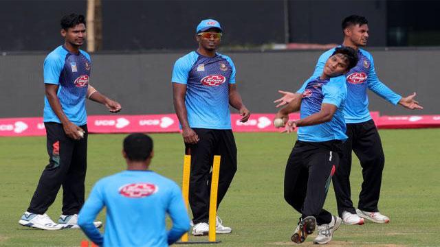 Bangladesh win toss, choose to bat first