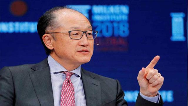 World Bank president resigns