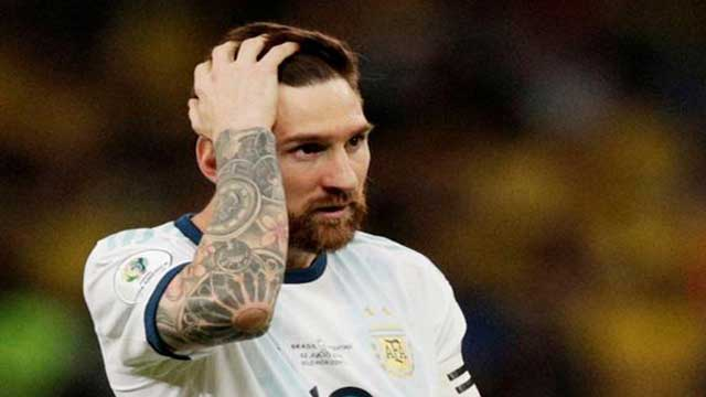 Messi banned for 3 months after Copa 'corruption' outburst