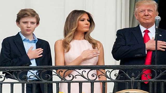 Trump's son Barron had COVID-19