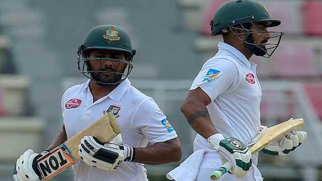 Bangladesh 78/4 at lunch as top-order crumbles