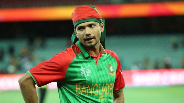 ওয়েস্ট ইন্ডিজের বিপক্ষে খেলবেন মাশরাফি : পাপন