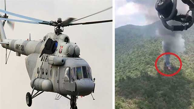 Mexican military helicopter crashes, killing 6