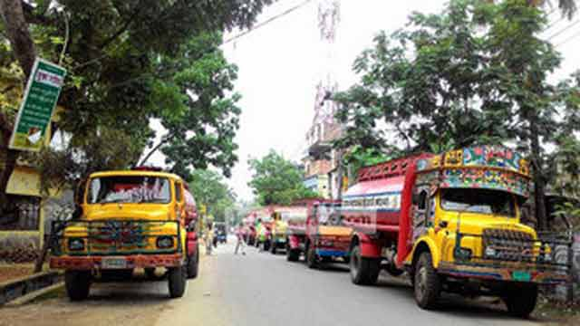 Oil supply disrupts as tank-lorry workers on strike in 15 dists