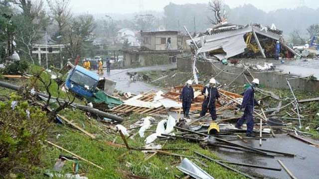 Death toll rises to 9 as Typhoon Hagibis lashes Japan