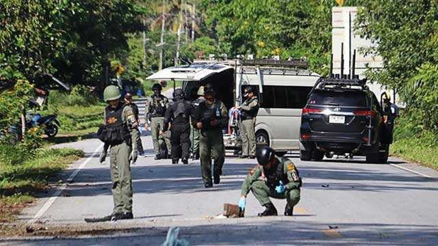 15 vigilantes killed at night by gunmen in southern Thailand