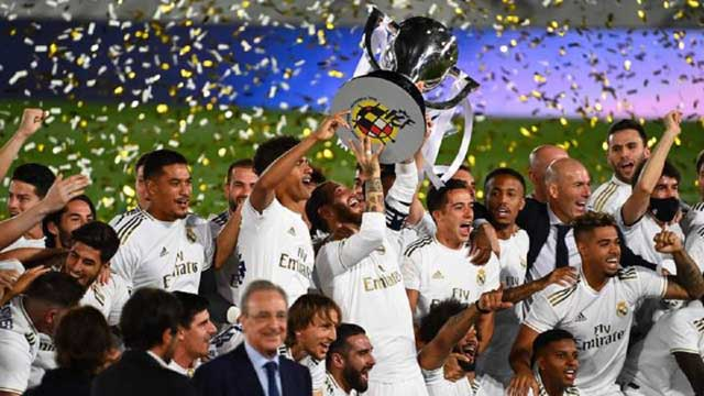 Real Madrid seal Spanish title