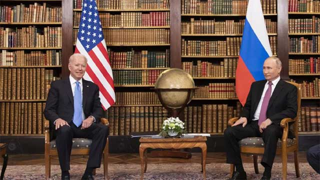 Biden warns Putin over ransomware attacks