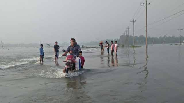 New areas submerged as Sherpur's flood situation worsens