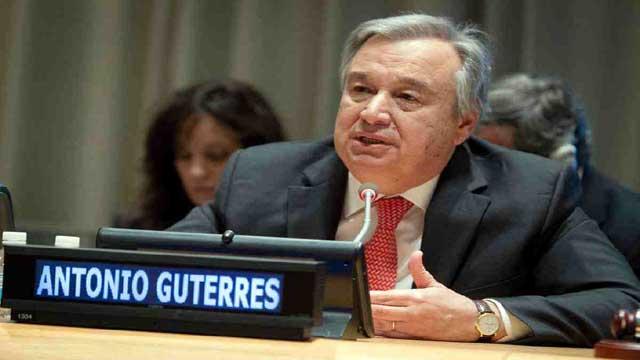 UN chief calls for political will to achieve SDGs