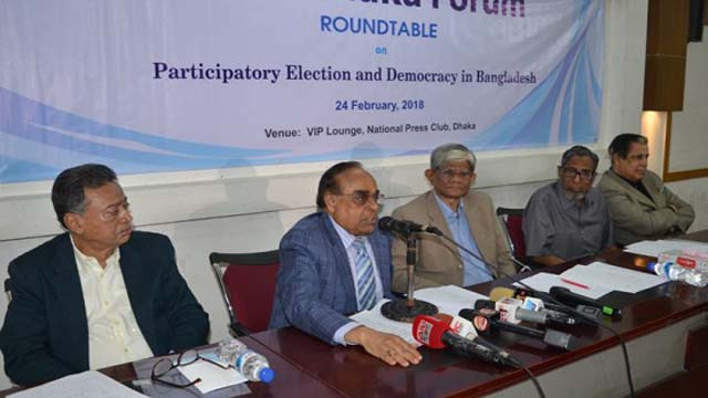 No hope for participatory polls in country