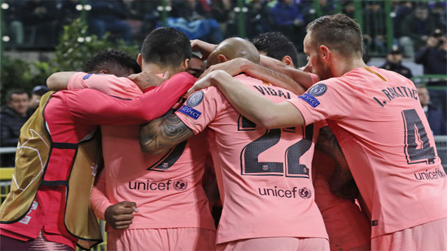 Champs League: Barca through, Griezmann scores, Monaco out