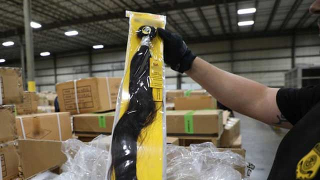 US seizes items thought to be made from hair of Muslims in Chinese labor camps