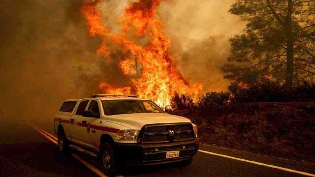 Massive Northern California wildfires rage on
