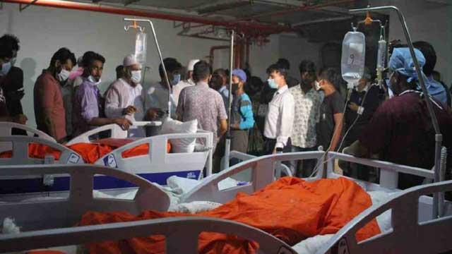 Another Narayanganj mosque blast victim dies; death toll 34