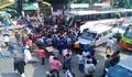 কোটার দাবিতে জাবি শিক্ষার্থীদের ঢাকা-আরিচা মহাসড়ক অবরোধ