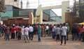 চট্টগ্রামে ইস্পাত কারখানায় শ্রমিক বিক্ষোভ