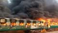 Fire on moving train kills 65 in Pakistan